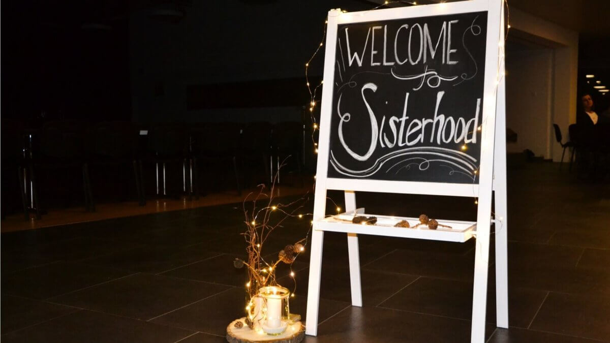 Sisterhood Welcome