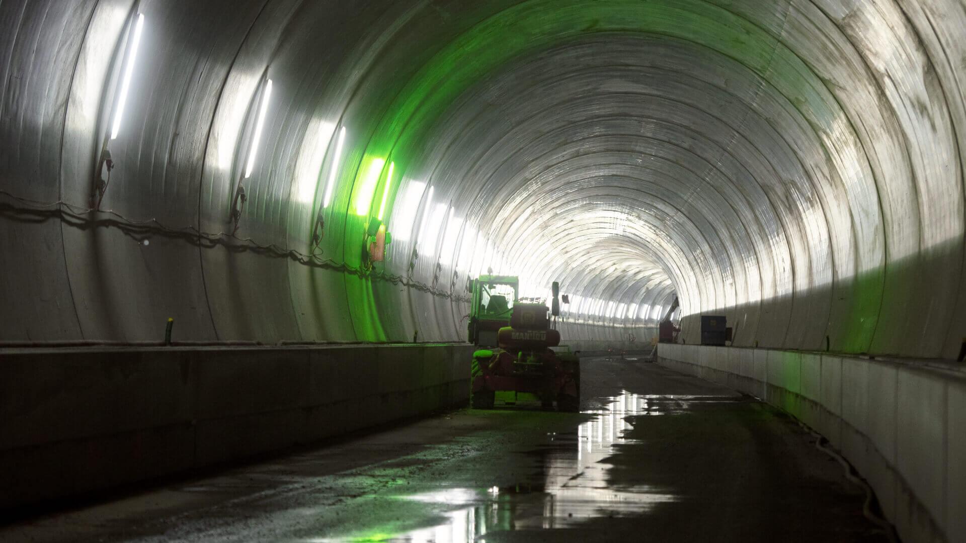 Tunnelbau Eppenberg