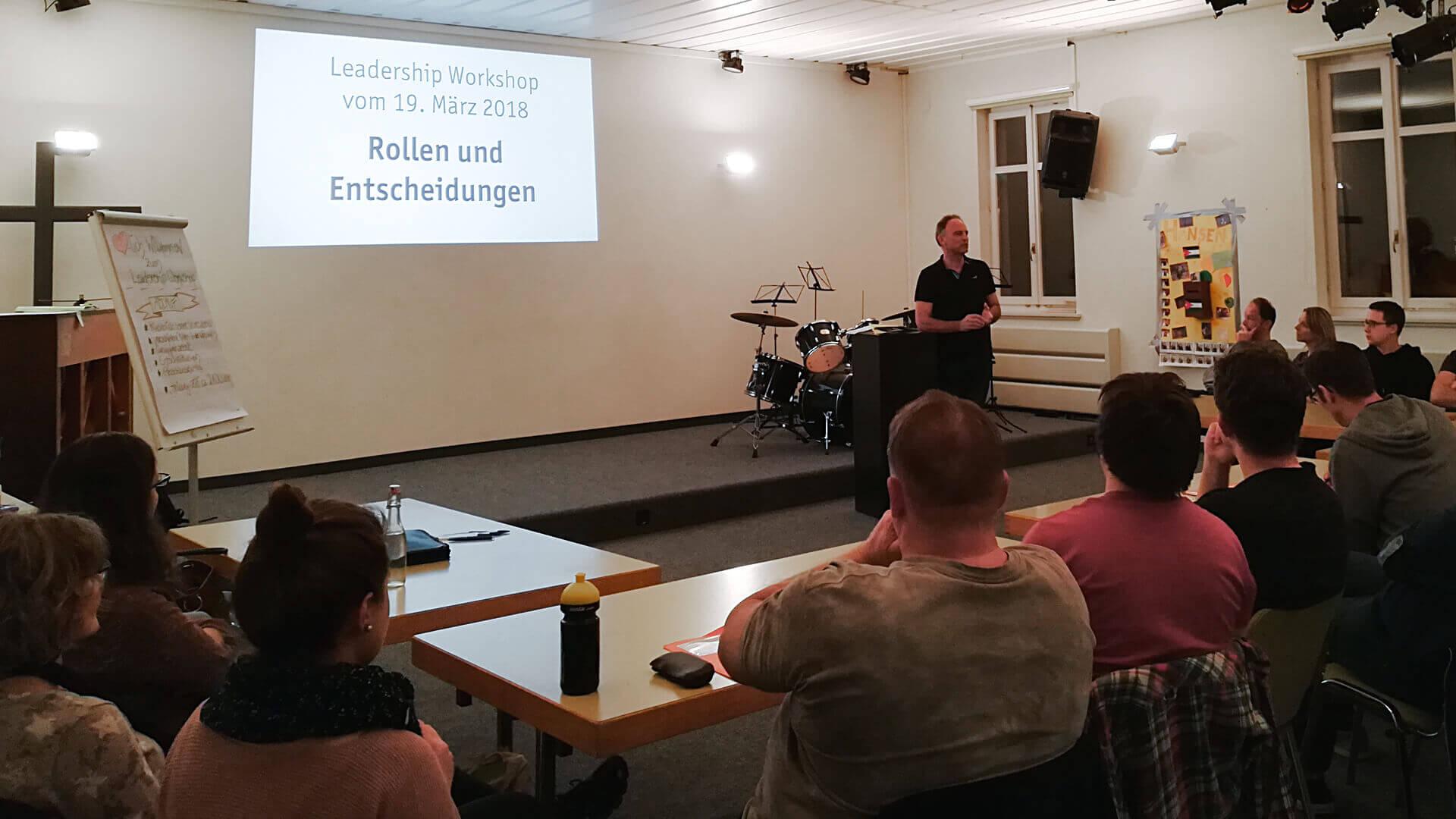 Leadership Workshop - Rollen und Entscheidungen