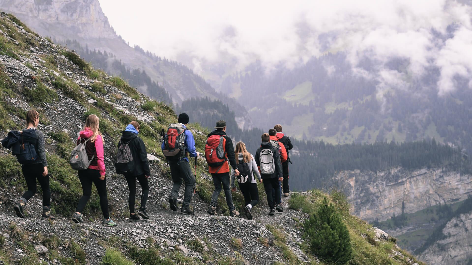 glow Bergtag: Wanderung zur Balmhornhütte.