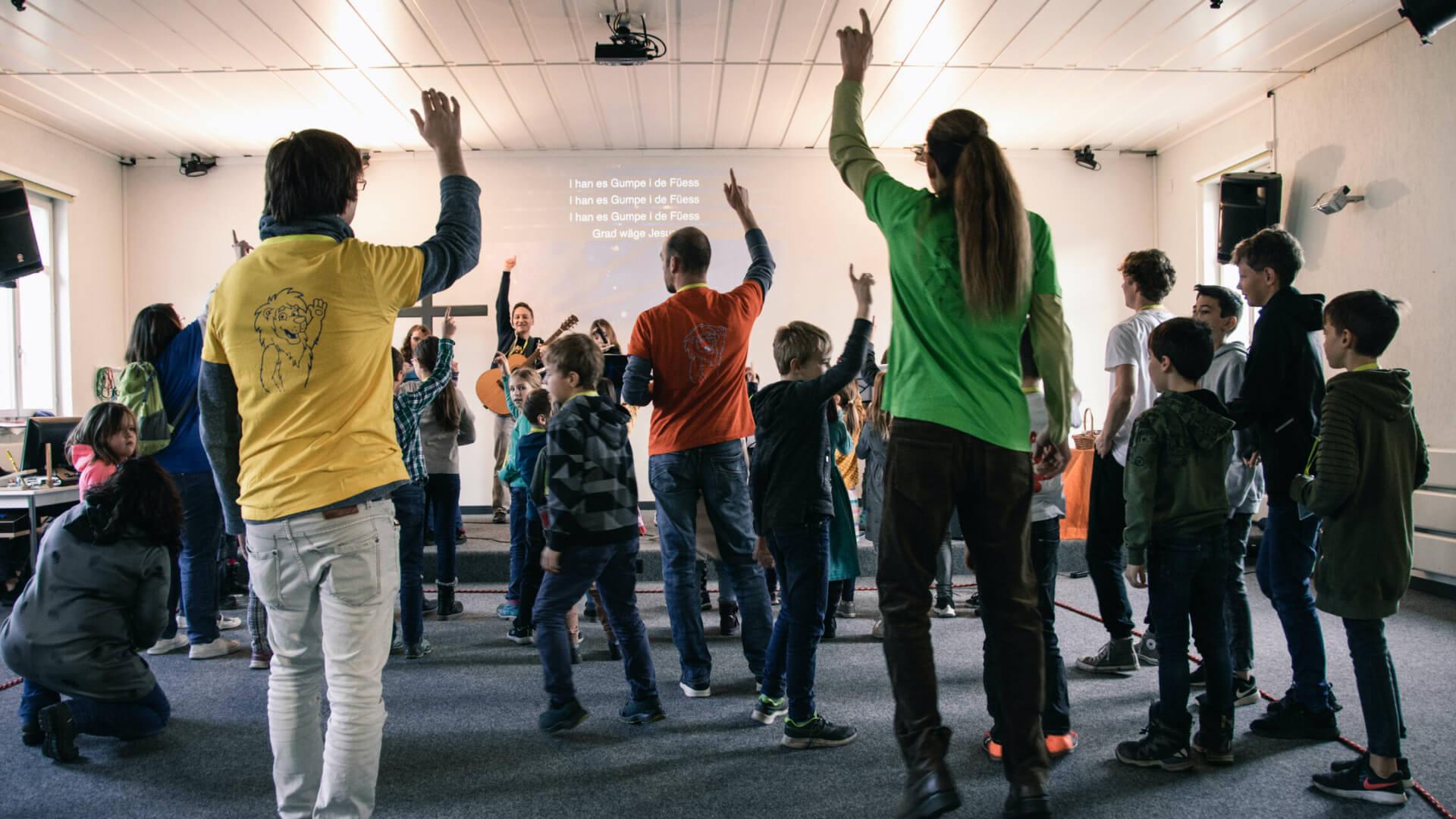 Worship-Zeit im Kigo