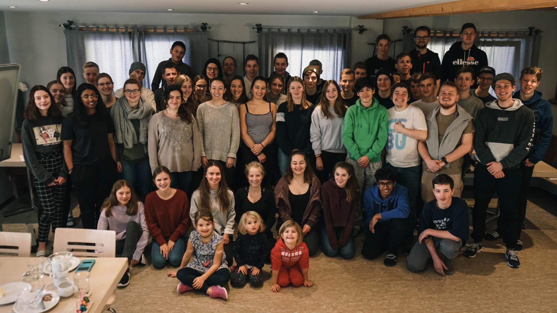 Alle Teilnehmer vom Wintercamp 19/20